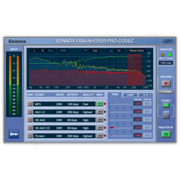 Sonnox Pro Codec Native