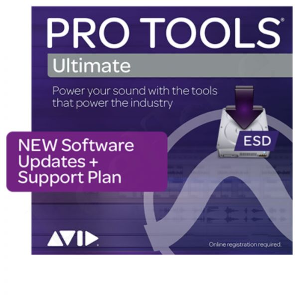 AVID Pro Tools Ultimate Update & Support Plan Reaktivierung