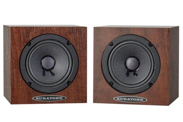 Auratone 5C & A2-30 AMP Bundle - wood