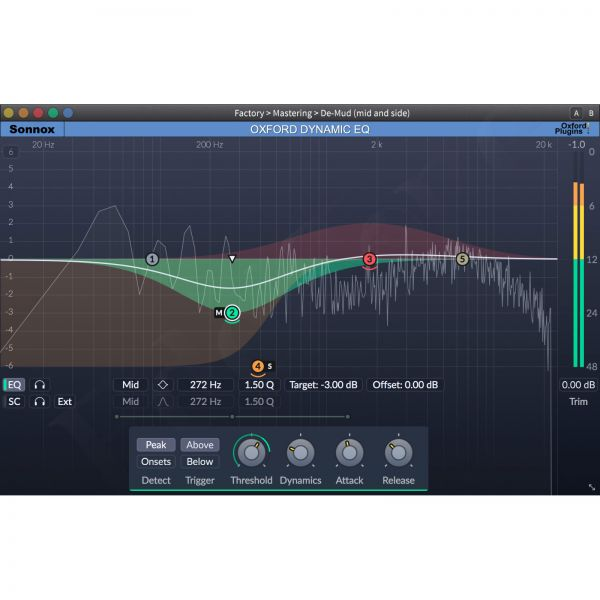 Sonnox Dynamic EQ Native