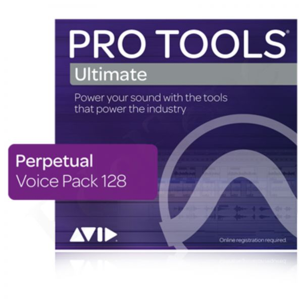 AVID Pro Tools Ultimate 128 Voice Pack - Permanent License