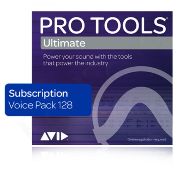 AVID Pro Tools Ultimate 128 Voice Pack Annual License - Jahreslizenz