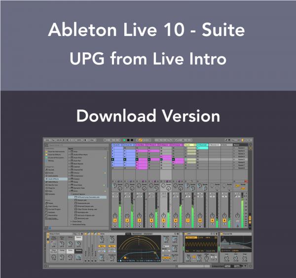 Ableton Live 10 Suite - Live Intro Upgrade