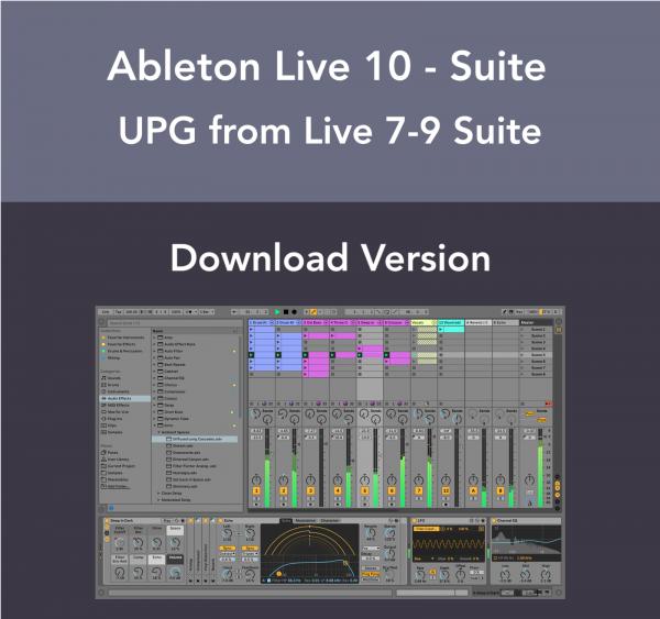 Ableton Live 10 Suite - Live 9 Suite Upgrade