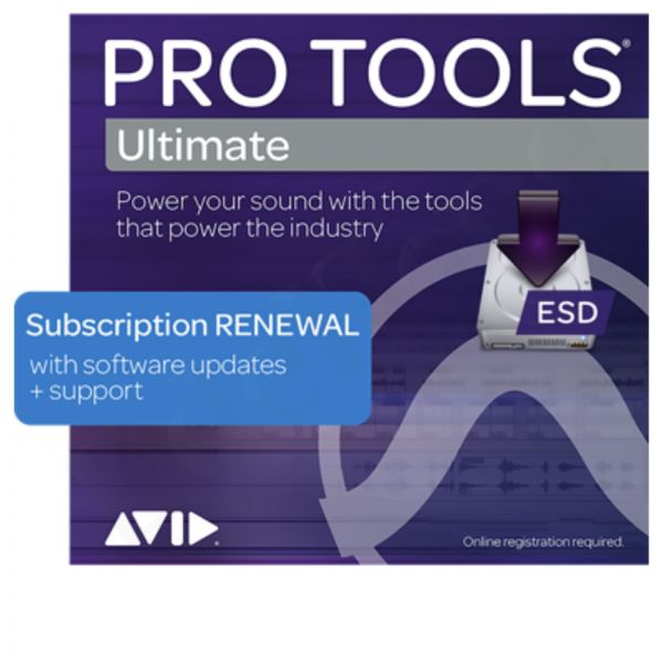 AVID Pro Tools Ultimate Annual License Renewal