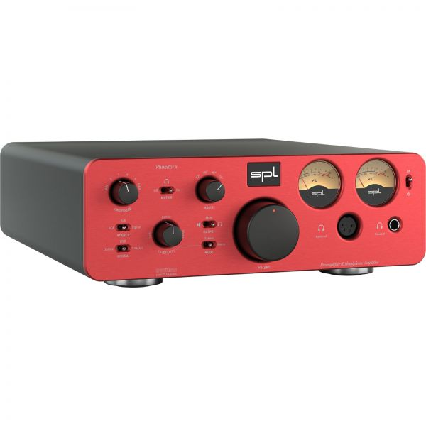 SPL Phonitor x + DAC768xs - red