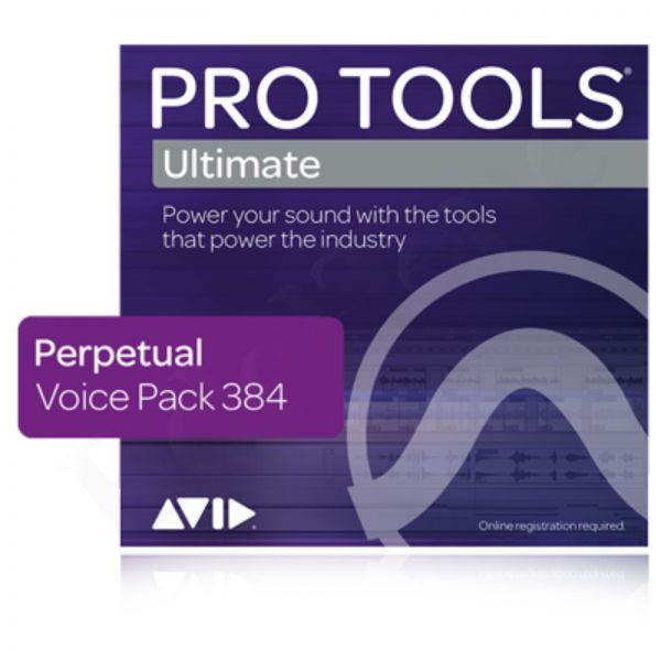 AVID Pro Tools Ultimate 384 Voice Pack - permanent license