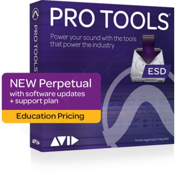 AVID Pro Tools EDU Student/Teacher Perpetual License