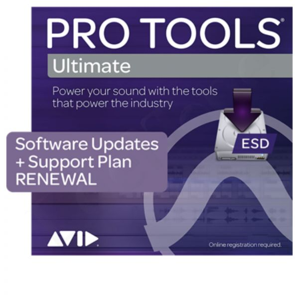 AVID Pro Tools Ultimate Update & Support Plan Verlängerung