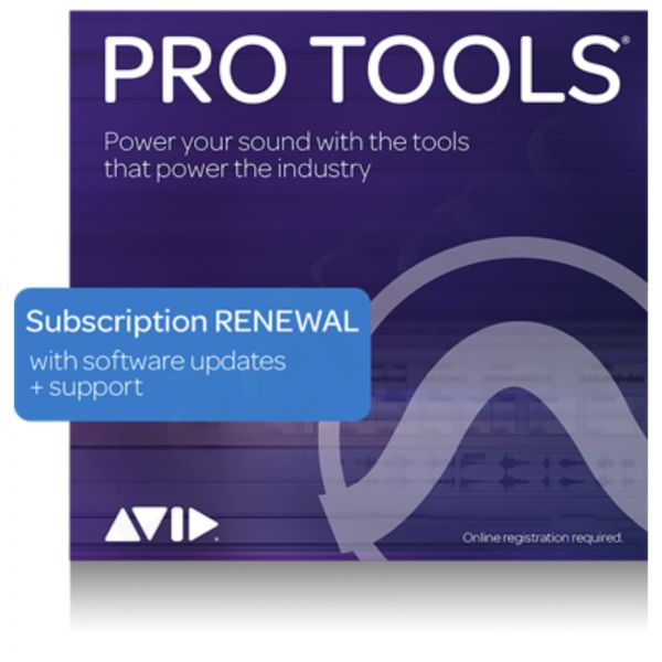 Avid Pro Tools Annual License Extension